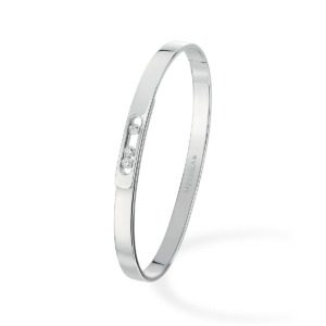 Messika - Bracelet Move Noa PM - or blanc diamant