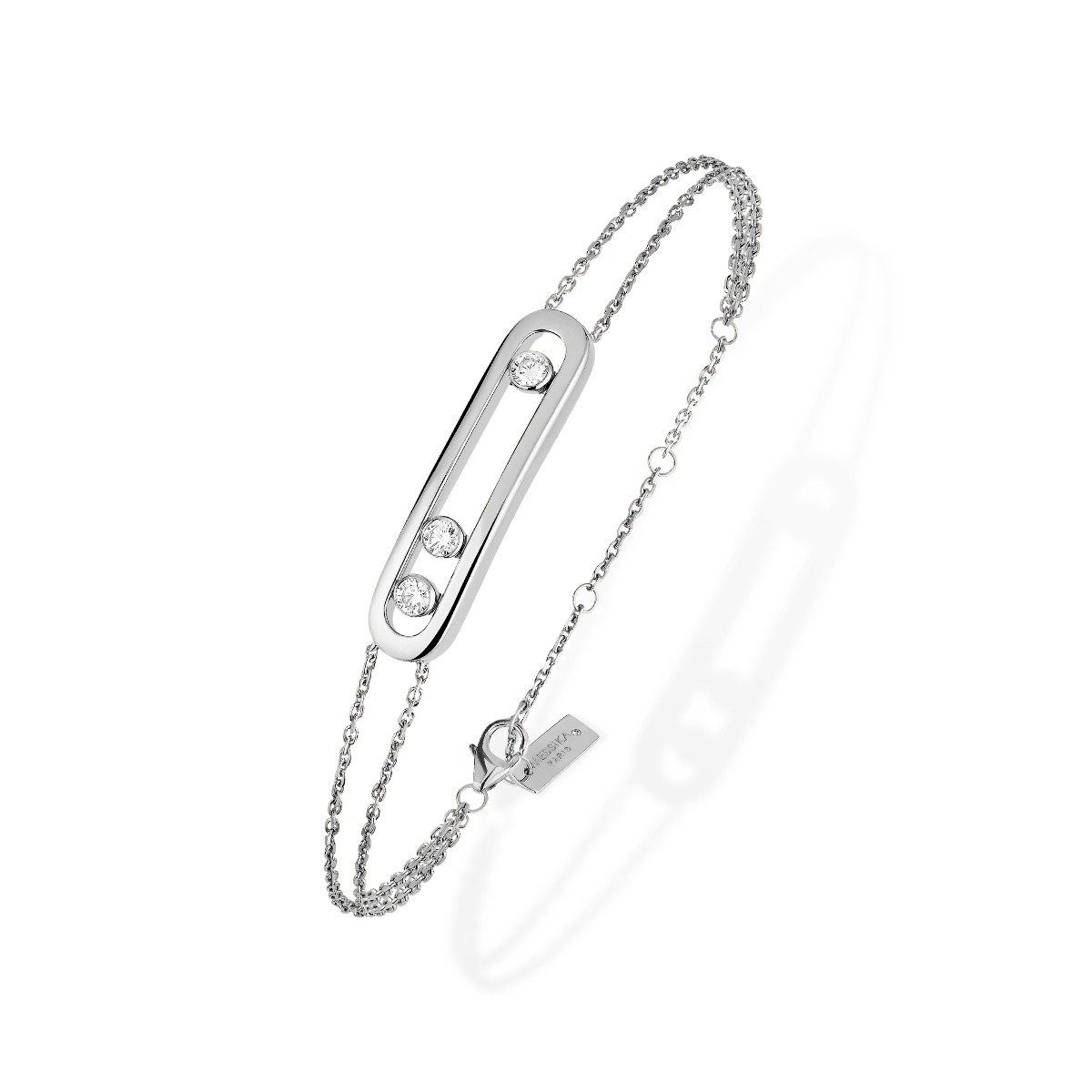 Messika - Bracelet Move Classique - or blanc diamant