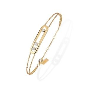 Messika - Bracelet Move Classique - or jaune diamant