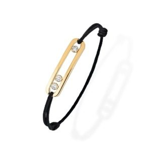 Messika - Bracelet Cordon Move - or jaune diamant