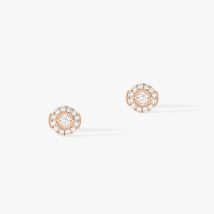 Messika - Boucles oreilles Joy PM - Or rose - Valer Nice - Joaillerie