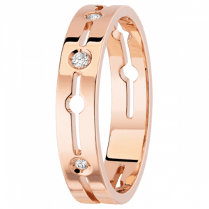 Dinh Van - Bague Pulse PM - Or rose - Valer Nice - bijouterie