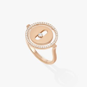 Messika - Bague Lucky Move - Or rose - Valer Nice - Joaillerie