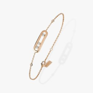 Messika - Bracelet Baby Move - Or rose - Valer Nice - Joaillerie