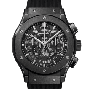 Hublot - Classic Fusion Aerofusion Black Magic 45 mm - Valer Nice - Horlogerie
