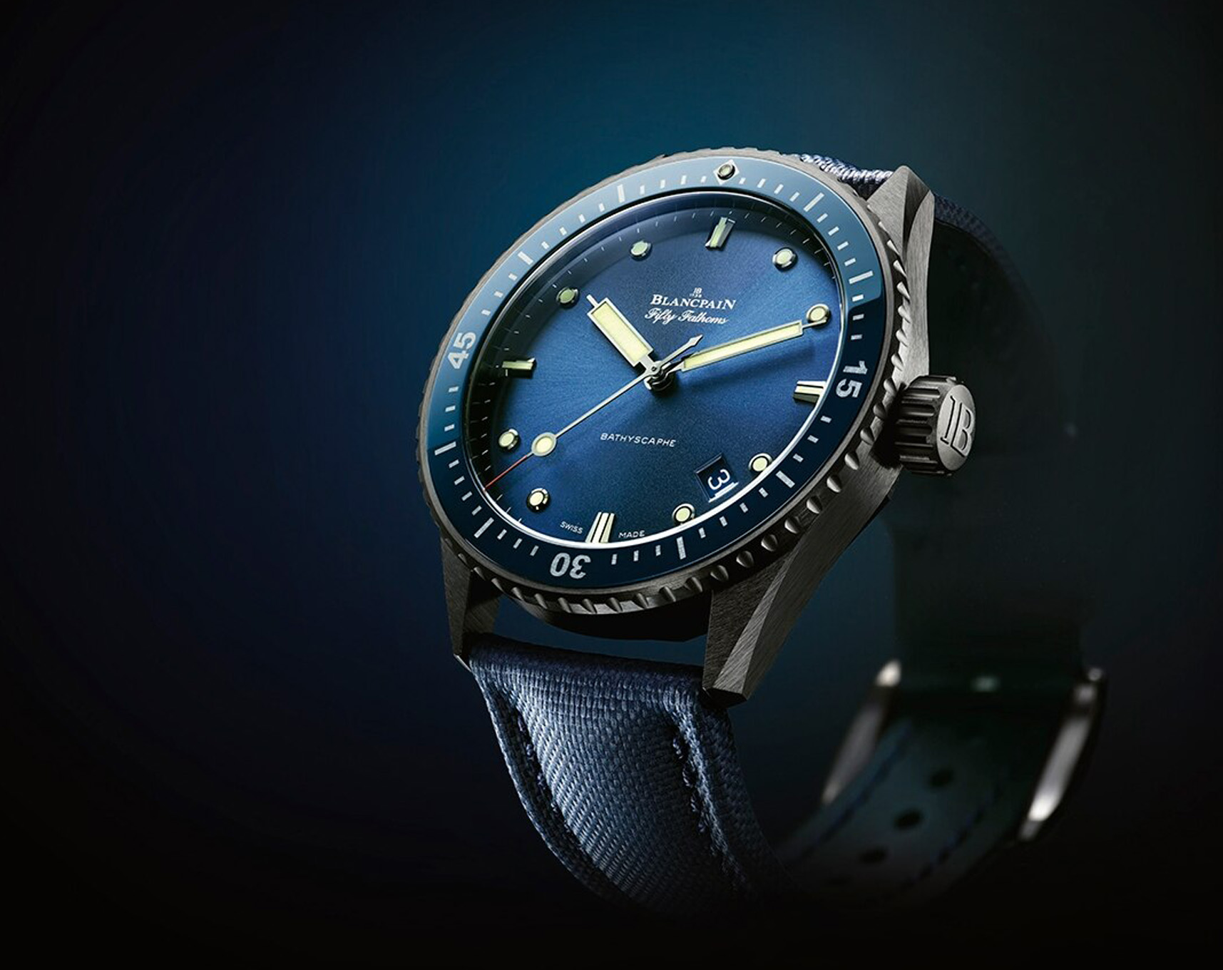 Blancpain - Collection Fifty Fathoms - Valer Nice