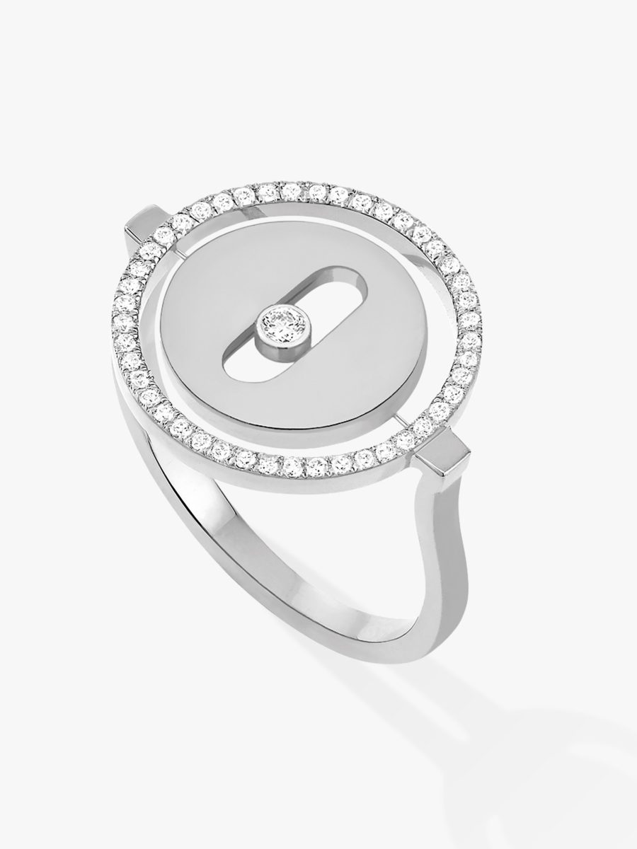Messika - Bague Lucky Move - Or blanc - Valer Nice - Joaillerie