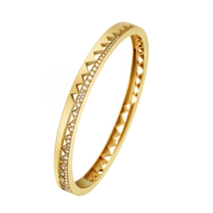 akillis-yellow-Gold-bracelet-two-sides-paved-with-white-diamonds-one-full-set-side-and-one-half-set - Valer, votre bijouterie à Nice